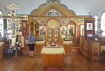 The interior of our church
